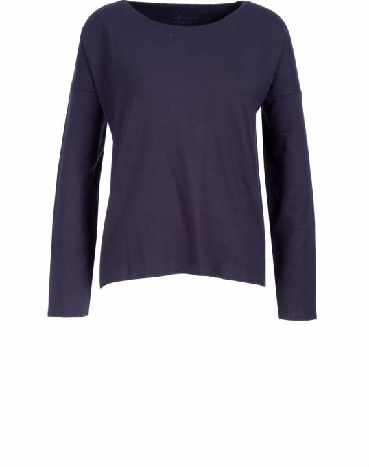 Iheart Damen Sweatshirt Malou blau