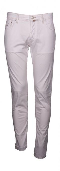Jacob Cohen Herren Jeans J688 Comfort Fit weiß