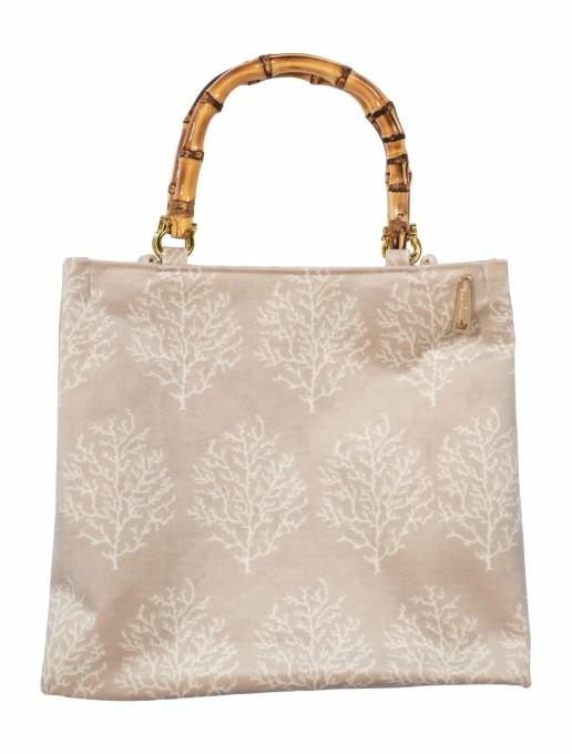 La Milanesa Handtasche Irma Velluto beige