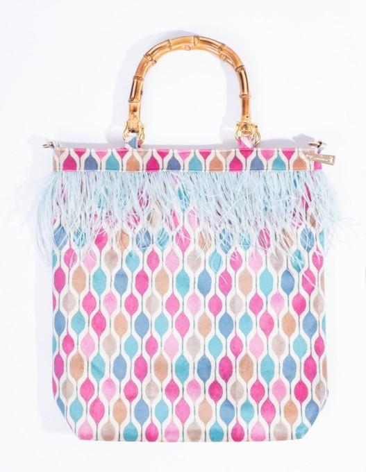 La Milanesa Handtasche New Marion arlecchino rosa