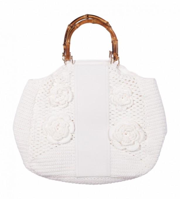 La Milanesa Handtasche Sofia weiß