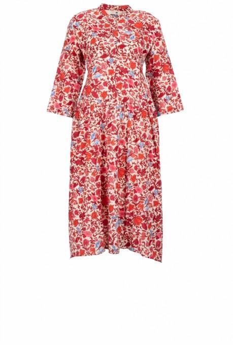 Mii Damen Kleid Tara Garden rot