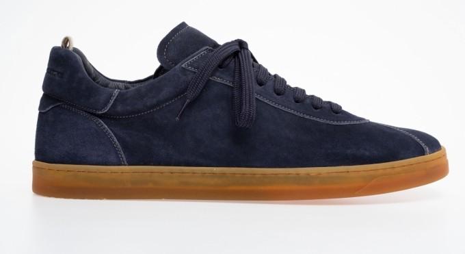 officine creative Herren Sneaker Karma blueprint blau