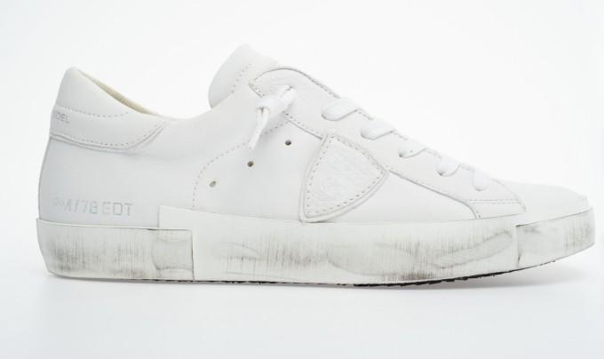 Philippe Model Damen Sneaker PRLD Basic weiß