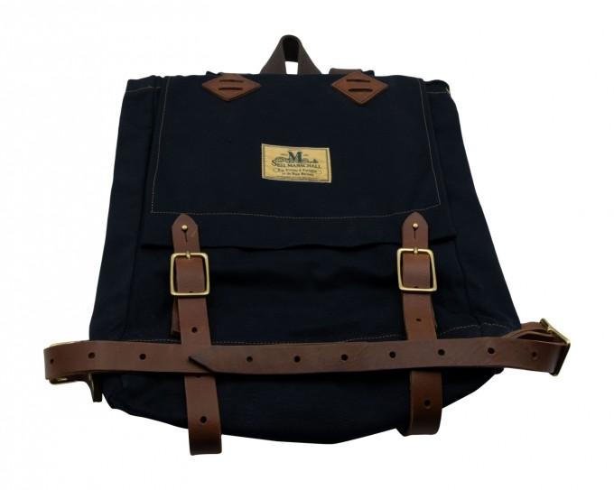 Seil Marschall Rucksack Mini Canoe Pack schwarz