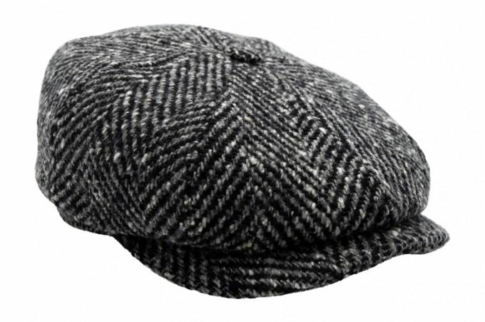Stetson Herren Schirmmütze Hatteras schwarz