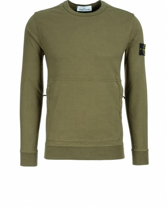 Stone Island Herren Sweatshirt 60750 oliv