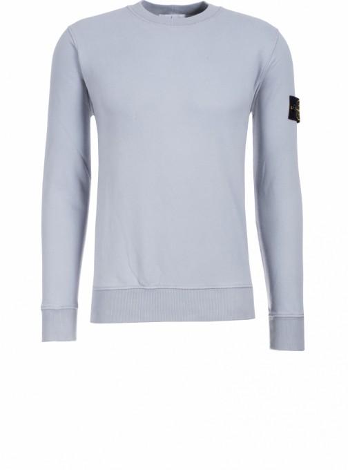 Stone Island Herren Sweatshirt 63020 hellblau