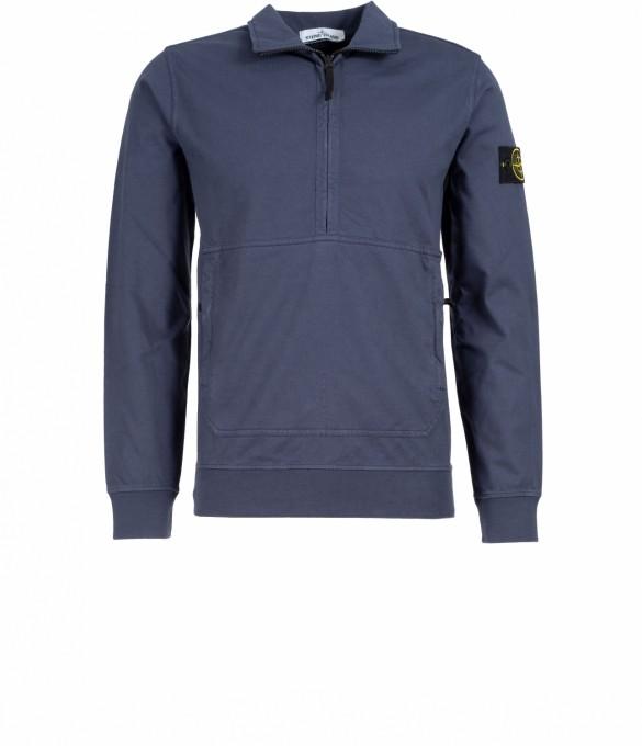 Stone Island Herren Sweatshirt 63750 blau