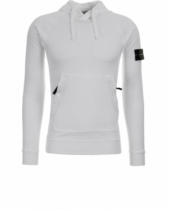 Stone Island Herren Sweatshirt 63860 weiß