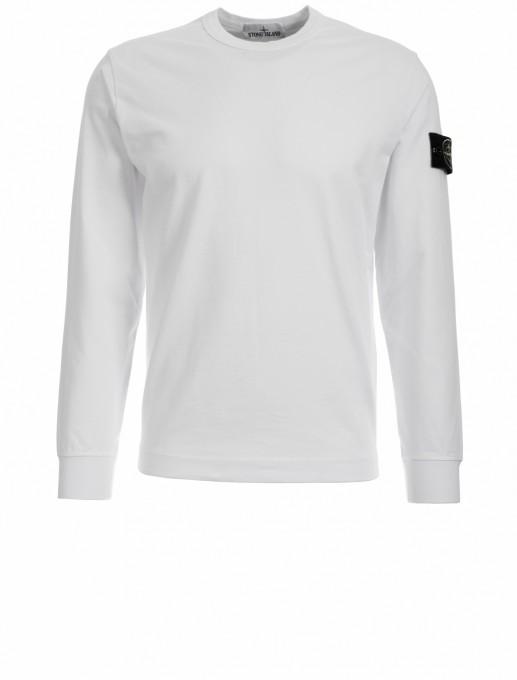 Stone Island Herren Sweatshirt 64450 weiß