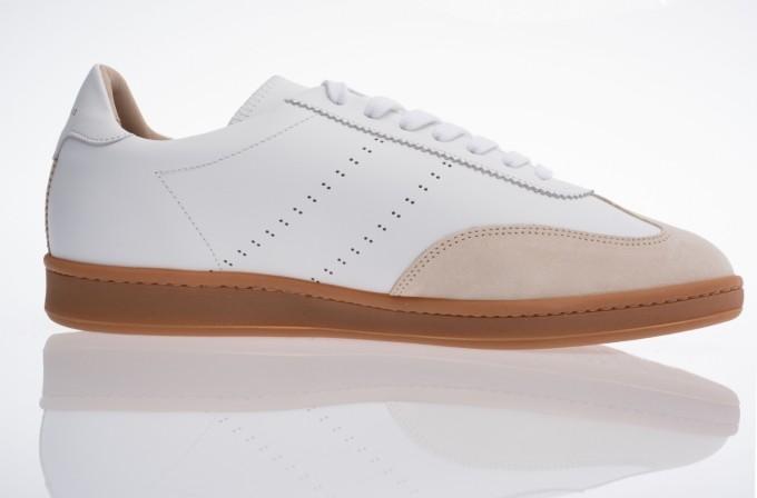Zespà Herren Sneaker ZSPGT Nappa weiß